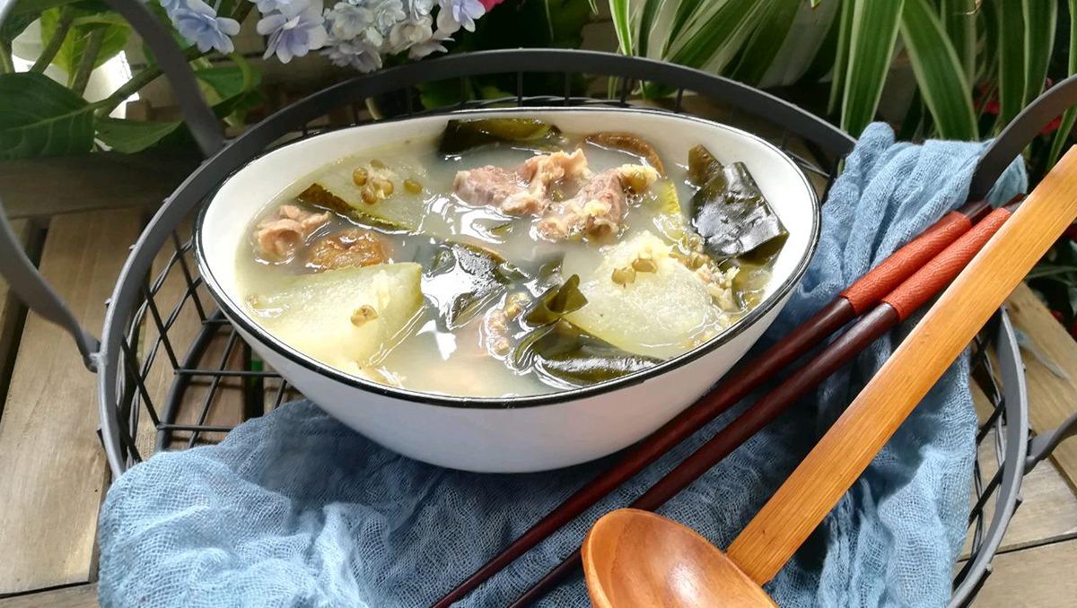 綠豆海帶冬瓜湯