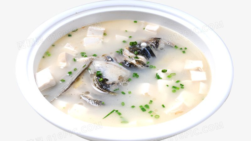 草魚頭豆腐湯