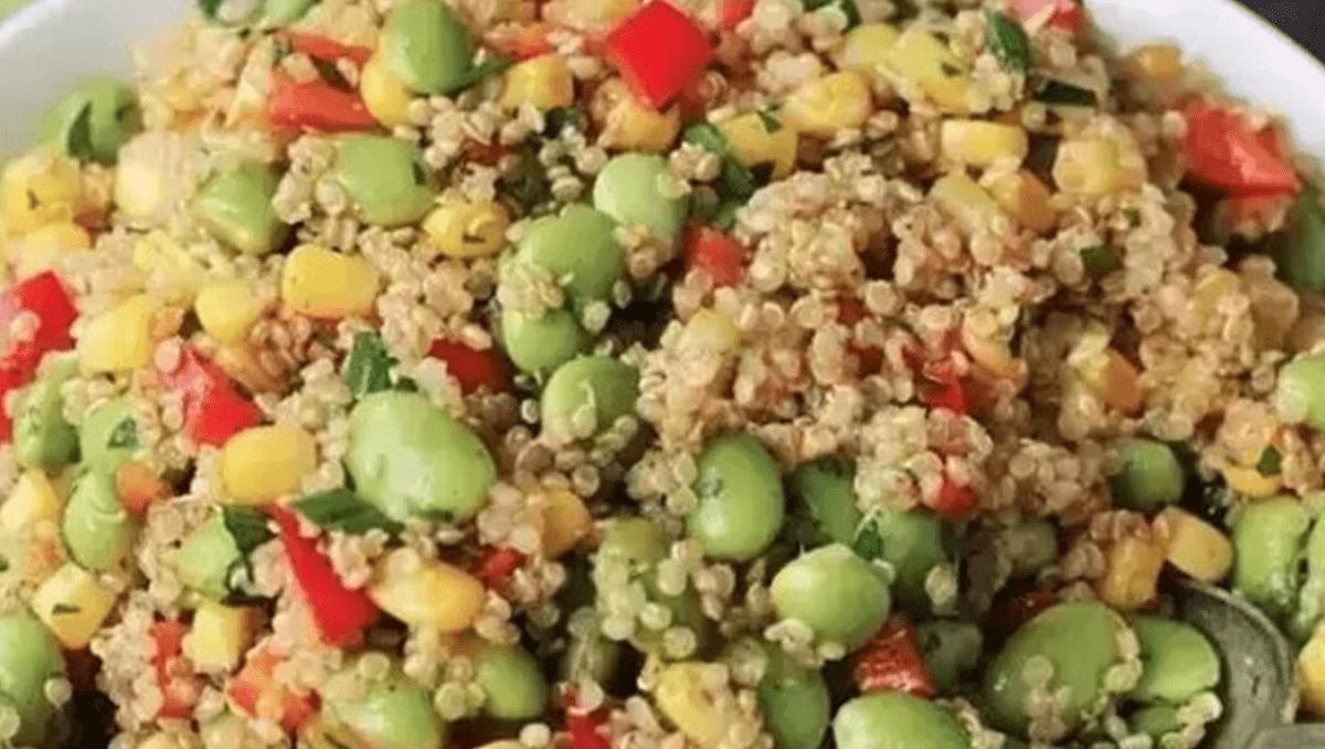 藜麥毛豆玉米沙拉