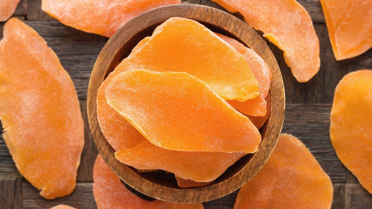 4種低卡食物熱量陷阱 - 芒果乾