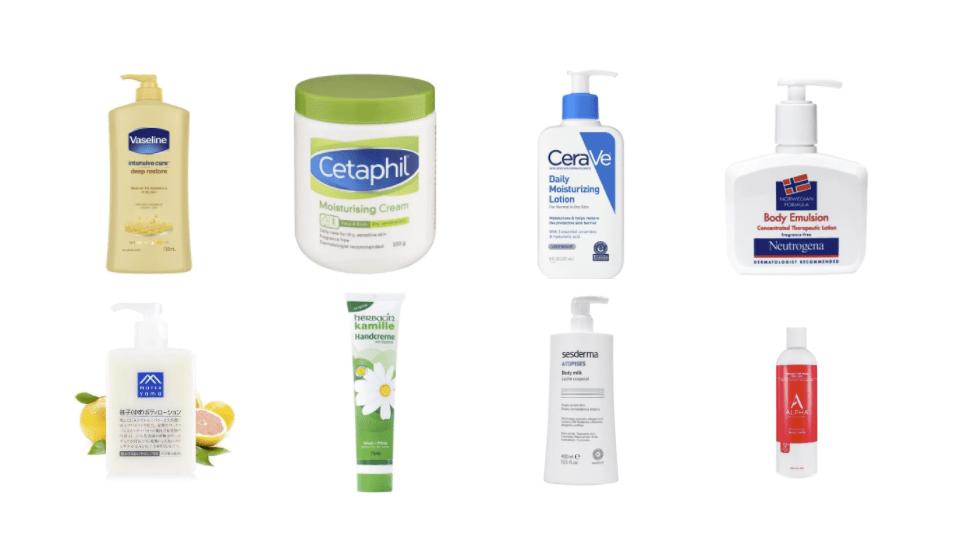 推薦8款保濕不黏膩的身體乳液!不怕皮膚乾到起皮