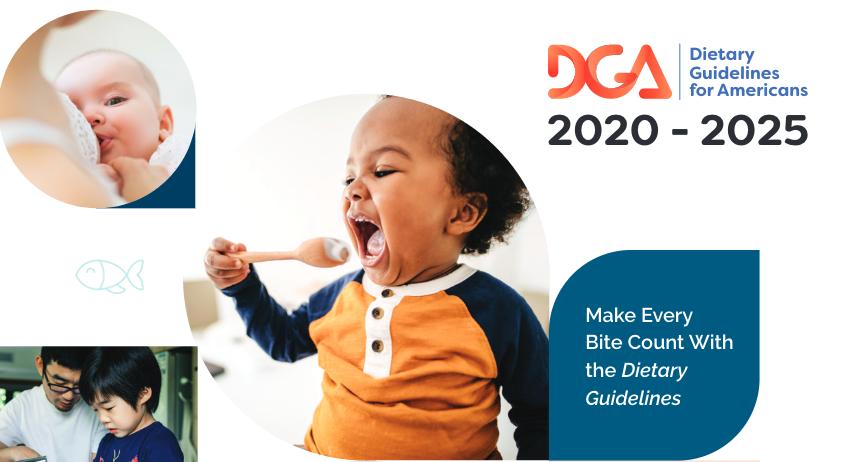 2020-2025年美國膳食指南